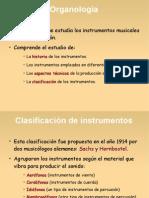 Presentación organología
