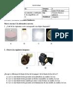 Guía de trabajo ciencias 3° ADECUACION