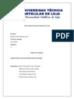 algebra lineal informe 1