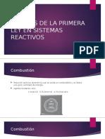 299996383-Analisis-de-La-Primera-Ley-en-Sistemas-Reactivos.pptx