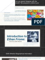 intro to ethan frome