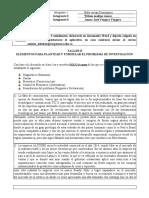 TALLER II CASOS PARA PLANTEAMIENTO Y FORMULACION DEL PROBLEMA resuelto