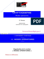 CRYPTOGRAPHIE _Modes operatoires