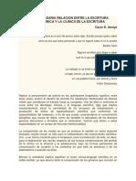 3-13 Amaya_O_DE LA NECESARIA RELACION ENTRE LA ESCRITURA DE LA  CLINICA.pdf