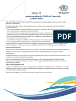 Bulletin #8 - OCIMF Guidance to Inspectors During the COVID-19 Pandemic (23 April 2020)