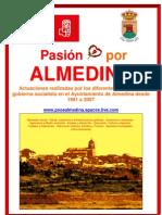 Resumen Legislaturas PSOE Almedina1991-2007