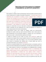 ANÁLISE DAS LITERATURAS MAIS PROCURADAS NA PRIMEIRA FASE DO