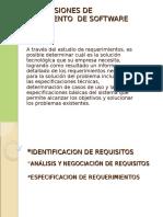 ESPECIFICASIONES DE REQUERIMIENTO  DE SOFTWARENº1