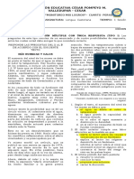 PRIMERA PRUEBA DE LECTURA  - GRADO OCTAVO - ludys.docx