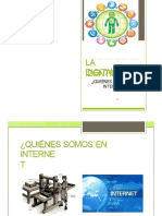 Identidad digital y Huella Digital
