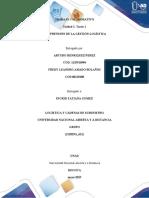 Unidad 1-Tarea 1 - Comprensión de la Gestión Logística