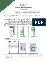 Práctica Sistemas Digitales Decodificador