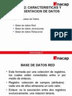 Base De Datos - Caracteristicas Y Representacion De Datos.ppt