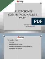 Aplicaciones Computacionales I