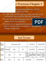 Soil Water Process