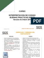 INTERPRETACION DE CODIGO DE BUENAS PRACTICAS SMETA V6.0 (V2 Oct 2018)