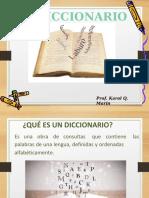 TEMA 1 - EL DICCIONARIO THALES