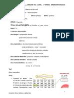 planificacion 2 para tercer grado primaria