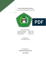 Akuntansi sektor publik kelompok 5