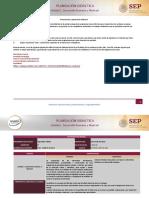 U1. Foro de Planeación Didáctica Desarrollo Humano y Libertad