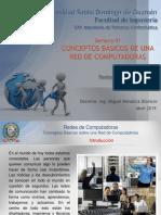 CONCEPTOS BÁSICOS DE UNA RED DE COMPUTADORAS