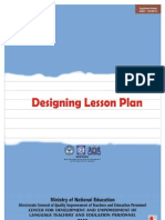 Designing Lesson Plan