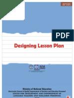 Designing Lesson Plan