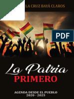 LA PATRIA PRIMERO_MARIA DE LA CRUZ BAYÁ