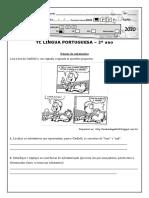 TC LÍNGUA PORTUGUESA - Substantivo