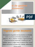 Resumen Manual de gestion documental