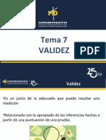 Tema 7 VALIDEZ.ppt