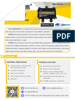 F8L10ST Sensor Terminal Technical Specification Data Sheet_V1.0.0