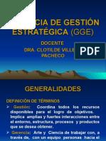 GERENCIA DE GESTIÓN ESTRATÉGICA (GGE)