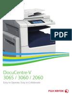 Spec Xerox DocuCenter V 3060