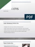 Materi Sejarah - POLITIK ETIS.pptx