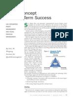 A Dual Concept for Longterm Success