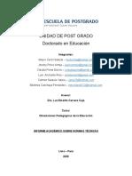 INFORME ACADÉMICO NORMAS TÉCNICAS.docx