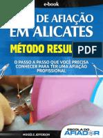 EBOOK GUIA DE AFIAÇÃO EM ALICATES