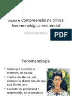 Aula 12 - Ação e Compreensão na clínica fenomenológica-existencial
