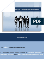 Distribution Management Ppt.