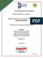 UNIDAD 3 DIFERENCIACIÓN Y ALIANZA DE B&M EQUIPO #3 583
