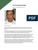 Pelanggar HAM Kamboja Diadili