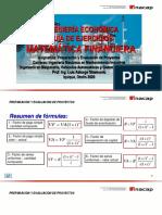 PREP Y EVAL DE PROYECTOS 03 2020 Matematica Financiera Guia Ejerc