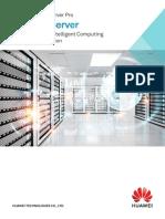 Huawei FusionServer Pro V5 Rack Server Data Sheet