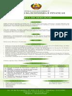 Carta de Serviço Ministério da Economia e Finanças de Moçambique