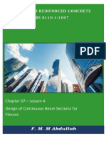 Chapter 07-Unit 04 -Design of continous beam for flexure.pdf