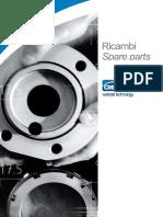 1. Componenti Altissima Pressione 1. Ultra High Pressure Components