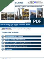 EIL Ms. Vartika Shukla -Oil and Gas Summit Energy Efficeincy 2015 Aug Mumbai