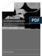 LA TÉCNICA PIANÍSTICA (proyecto final de carrera)