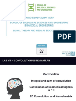CLASS 21 - LAB VIII - CONVOLUTION